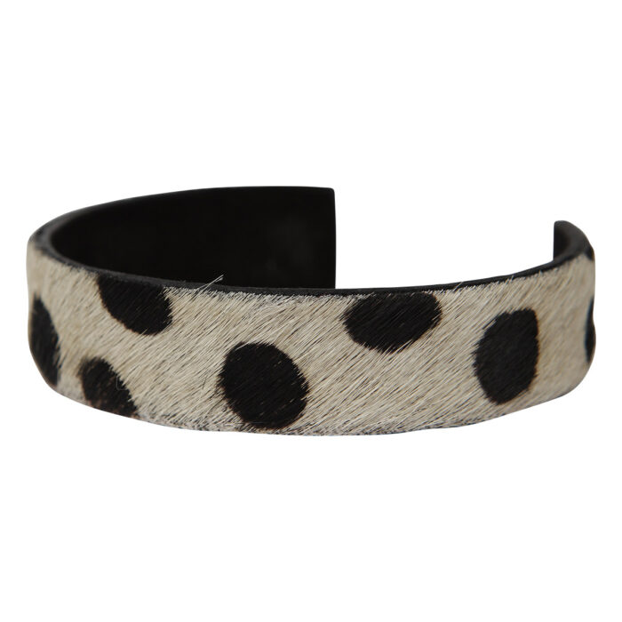 Anna Bracelet Animal Print White Dots