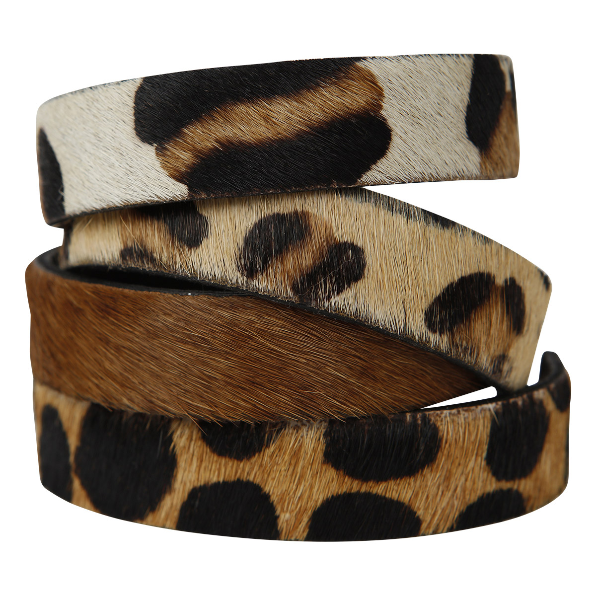 Lilly Bracelets Animal Print Brown