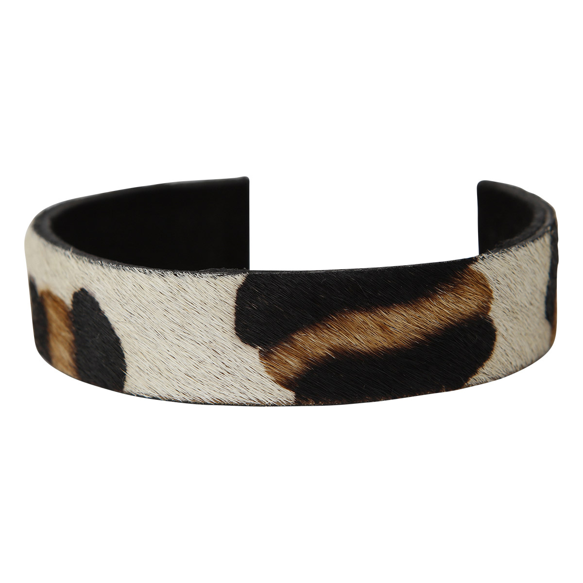 Lilly Bracelet Animal Print White Spots