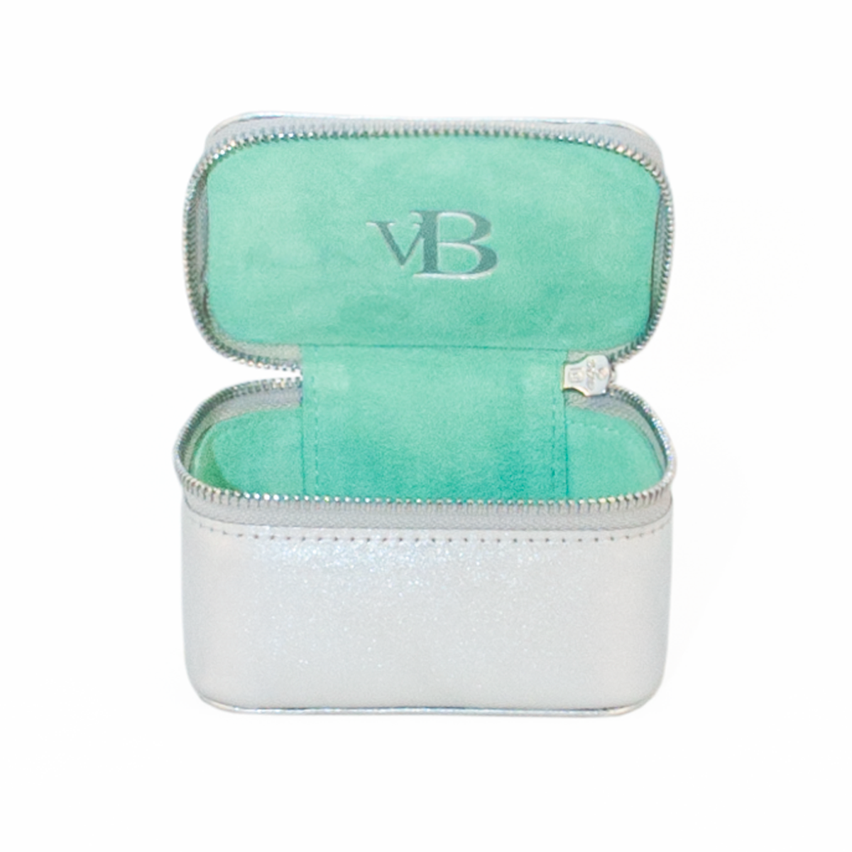 Jewellery Box Silver Turquoise