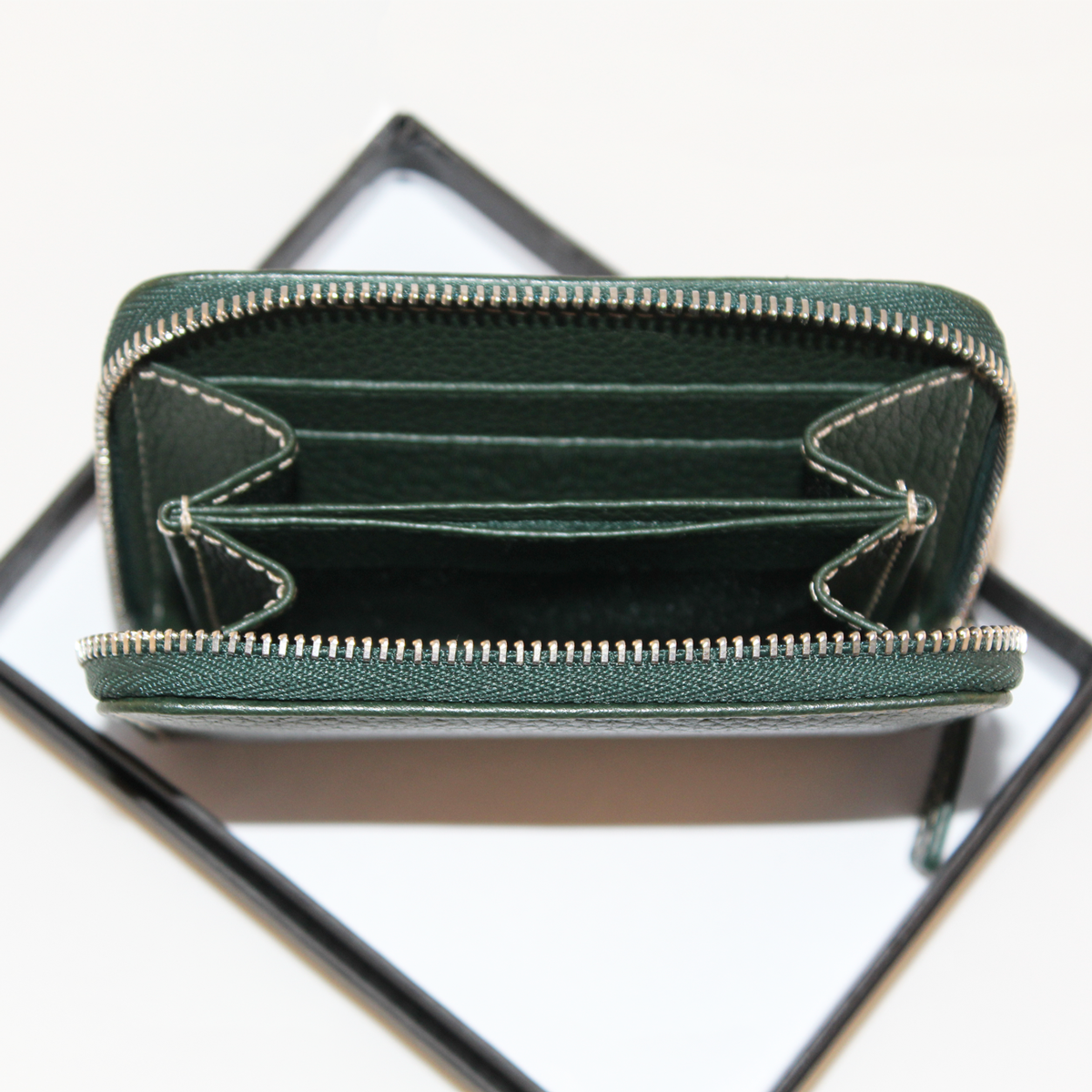 New Wallet Dark Green